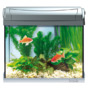Zestaw akwariowy Tetra AquaArt led 20l Goldfish - srebrny (anthracyt)