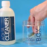 Zestaw Aqua Cleaner - płyn + pojemnik