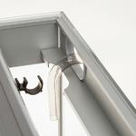 Zestaw Aquael Glossy ST 120 - biały (odbiór osobisty)