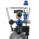 Zestaw CO2 Aquario BLUE Exclusive (bez butlil) - z komputerem pH