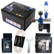 Zestaw CO2 Aquario BLUE Professional (bez butli) - z elektrozaworem
