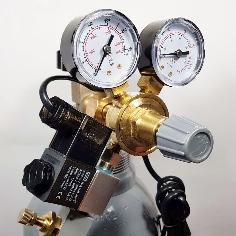 Zestaw CO2 RA [5l] - z elektrozaworem i komputerem pH
