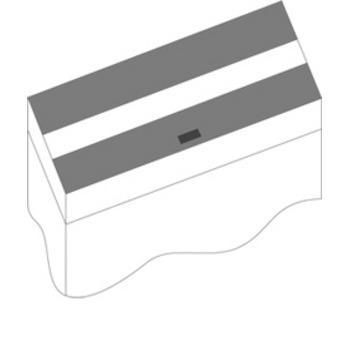 Zestaw klap Juwel 150x50cm (czarny)