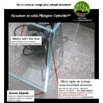 Zestaw Opti White CABINET SET 90x45cm (182l) - odbiór osobisty