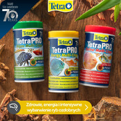 Zestaw pokarmów Tetra: Algae + Energy + Clour Multi Crips (3x250ml)