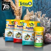 Zestaw pokarmów Tetra FreshDelica: Bloodworms + Brine Shrimps + Krill + Daphnia
