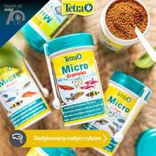 Zestaw pokarmów Tetra Micro dla narybku - 3 gramatury (3x100ml)