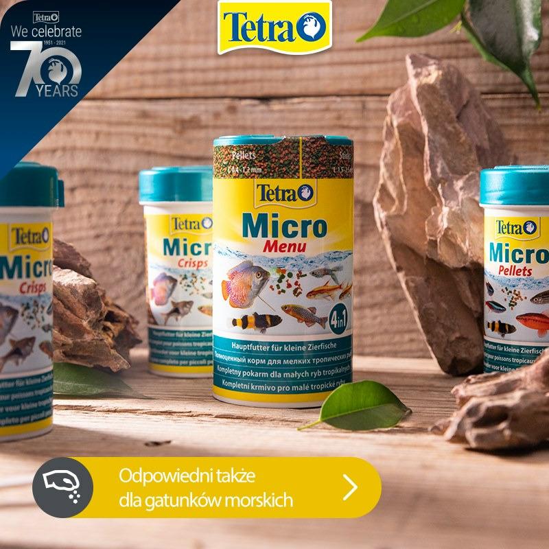 Zestaw pokarmów Tetra Micro dla narybku - 4 gramatury (4x100ml)
