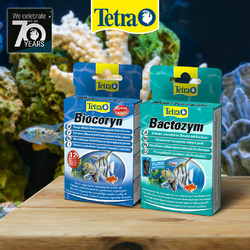Zestaw preparatów Tetra: Biocoryn + Bactozym