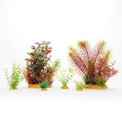 Zestaw sztucznych roślin MAXI Yusee (20x9x12cm)