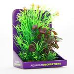 Zestaw sztucznych roślin Yusee - rośliny zielone (15cm)