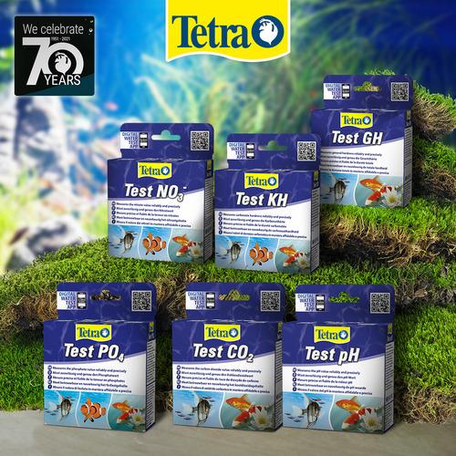 Zestaw testów Tetra: NO3, PO4, GH, KH, pH, CO2