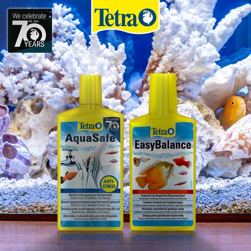 Zestaw Tetra: AquaSafe 250ml + EasyBalance 250ml - do uzdatniania wody