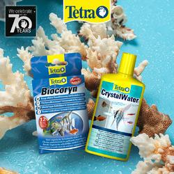 Zestaw Tetra: Biocoryn + CrystalWater - utrzymanie czystości wody i podłoża