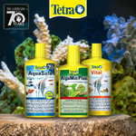Zestaw Tetra do cotygodniowej pielęgnacji: AquaSafe + AlguMin Plus + Vital [3x500ml]