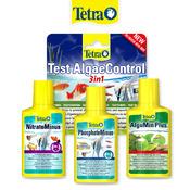 Zestaw Tetra do kontroli glonów (3x100ml + test na glony)