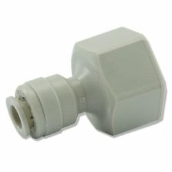 Złączka prosta na wężyk RO [6mm x 1/2cala] GW - do ujęcia wody od prysznica