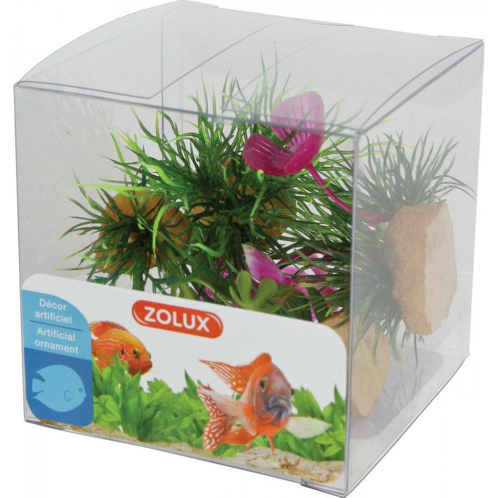 Zolux Dekoracje roślinne mix x 4 szt. zestaw 1
