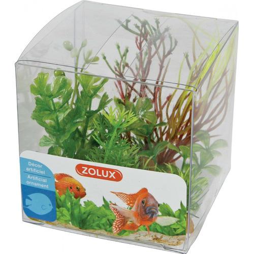 Zolux Dekoracje roślinne mix x 4 szt. zestaw 2