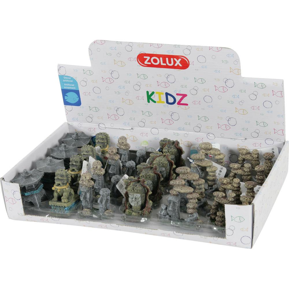 ZOLUX Display 24 dekoracji akwarystycznych