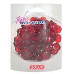 ZOLUX Perełki szklane rubinowe