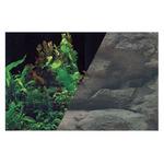 Zolux Tło akwariowe dwustronne 50 x 80 cm rośliny czar./skała