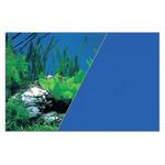 Zolux Tło akwariowe dwustronne 60 x 120 cm rośliny skała/niebieskie