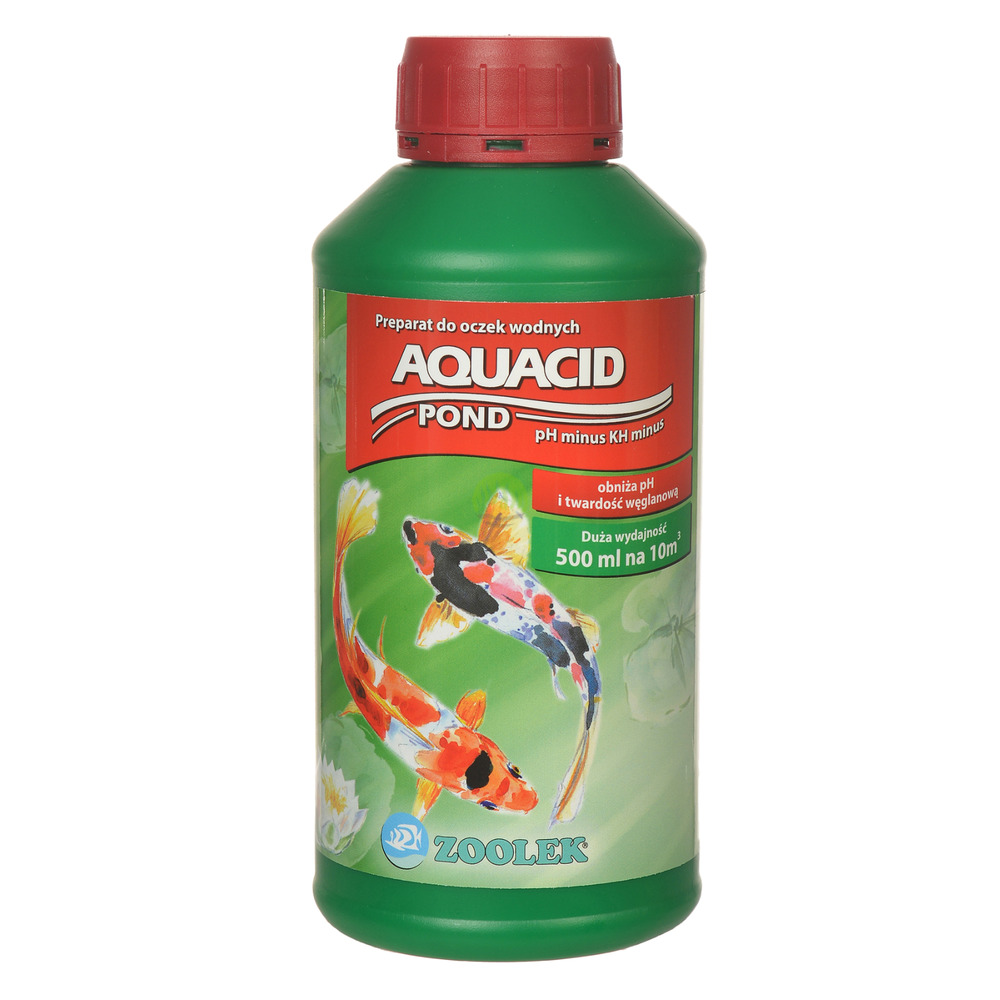 Zoolek Aquacid POND [500ml] - obniża pH i KH