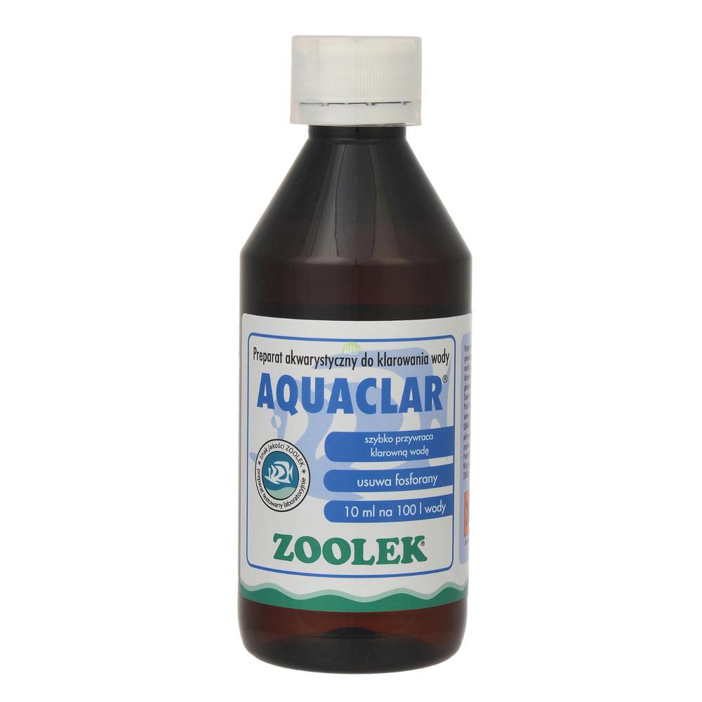 Zoolek Aquaclar [250ml] - na zielony zakwit wody