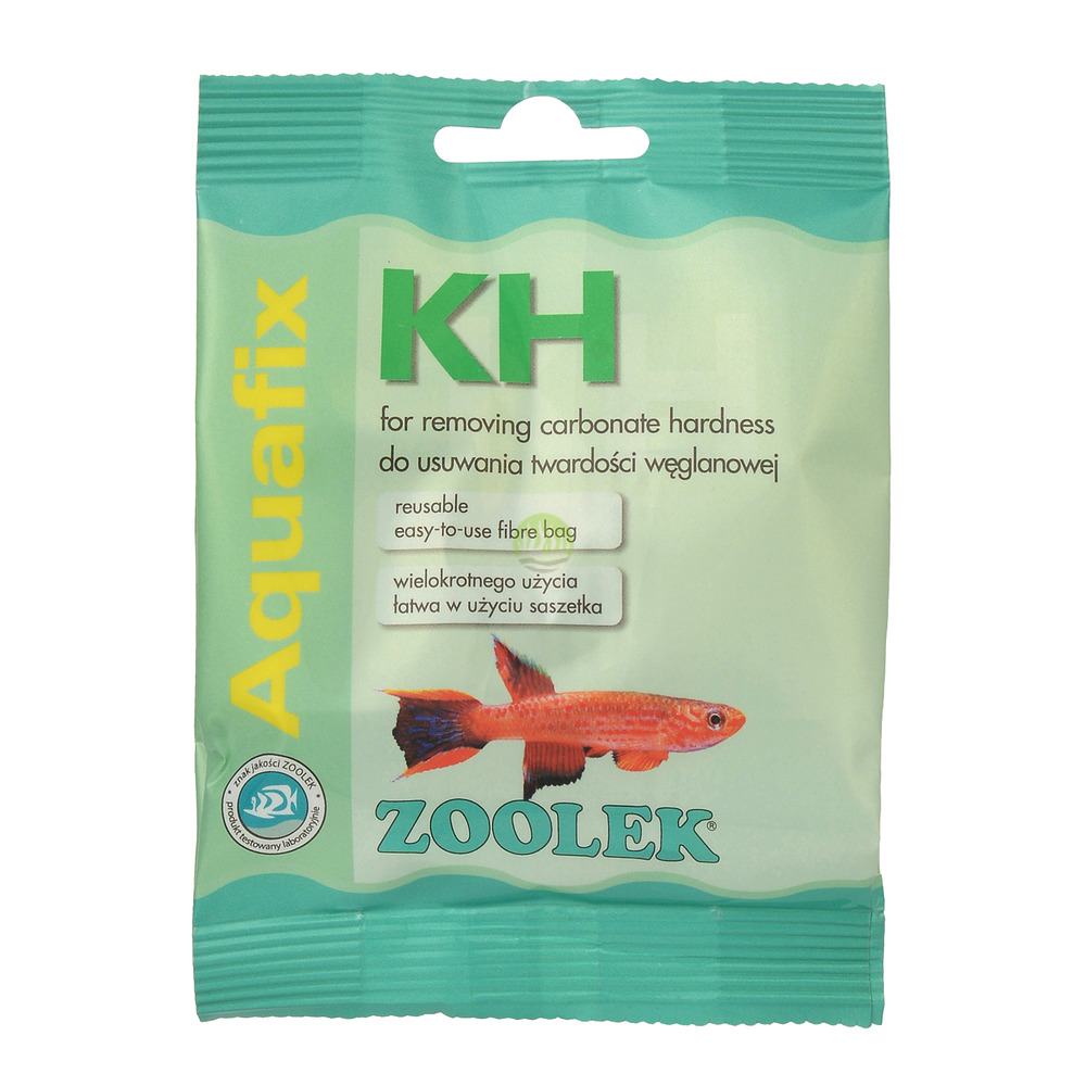 Zoolek Aquafix KH - kationit wodorowy (obniża KH) - woreczek