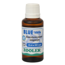 Zoolek błękit Blue Ichtio [30ml] - do odkażania