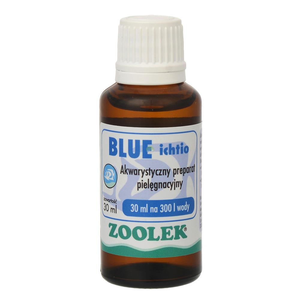 Zoolek błękit Blue Ichtio [30ml] - do odkażania (na bakterie i pierwotniaki)