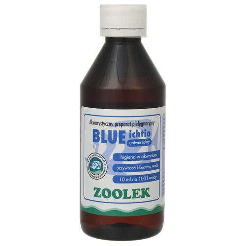 Zoolek Blue Ichtio [250ml] - do odkażania