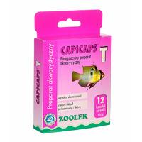 Zoolek Capicaps-T [12 tabletek] - na przywry, nicienie, tasiemce