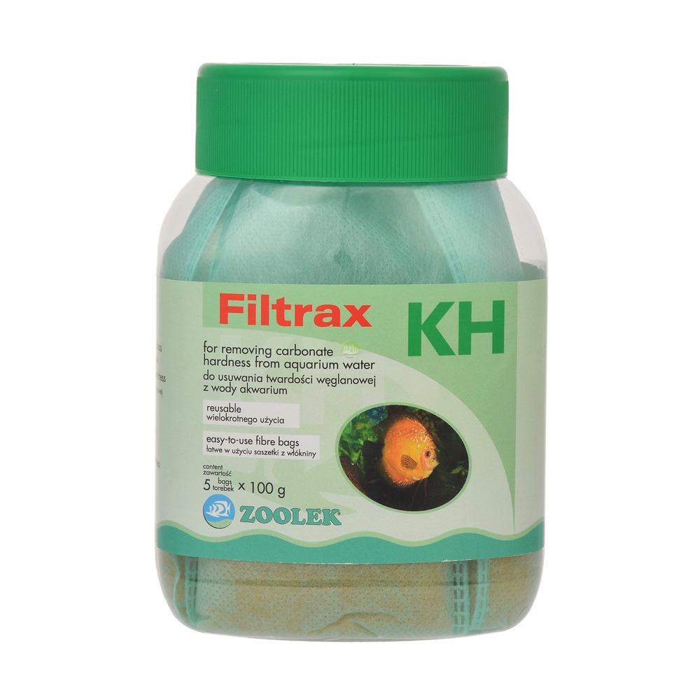 Zoolek Filtrax KH (słoik 5x100g) - kationit do obniżania twardości węglanowej