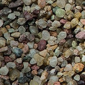 Żwir naturalny Aquael 3-5mm (10kg) - wielobarwny